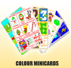 Colour Mini Cards