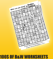 100s of esl worksheets