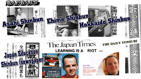 Newspapers Featuring Genki English