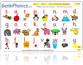 New Phonics Talking Pages