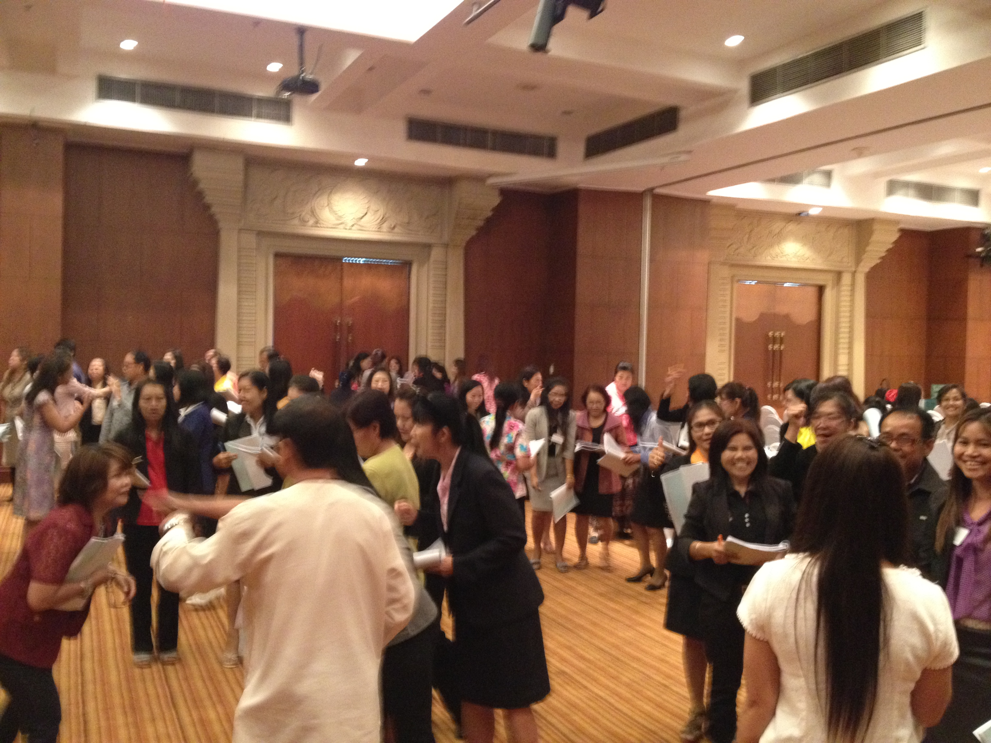 Ubon Ratchathani Workshop & How to get teachers to read lesson plans