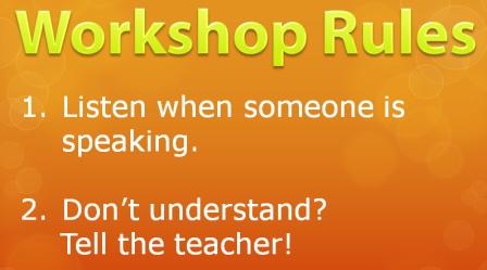 workshoprules