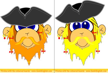 Orange & Yellow Pirates!