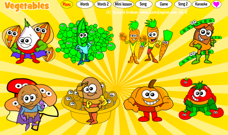 Software Update: Superhero Vegetables with Picture Book!