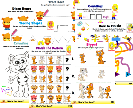 Brainy Level Kindergarten Workbook