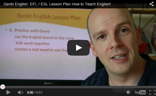 How to do an easy 123 step ESL Lesson Plan