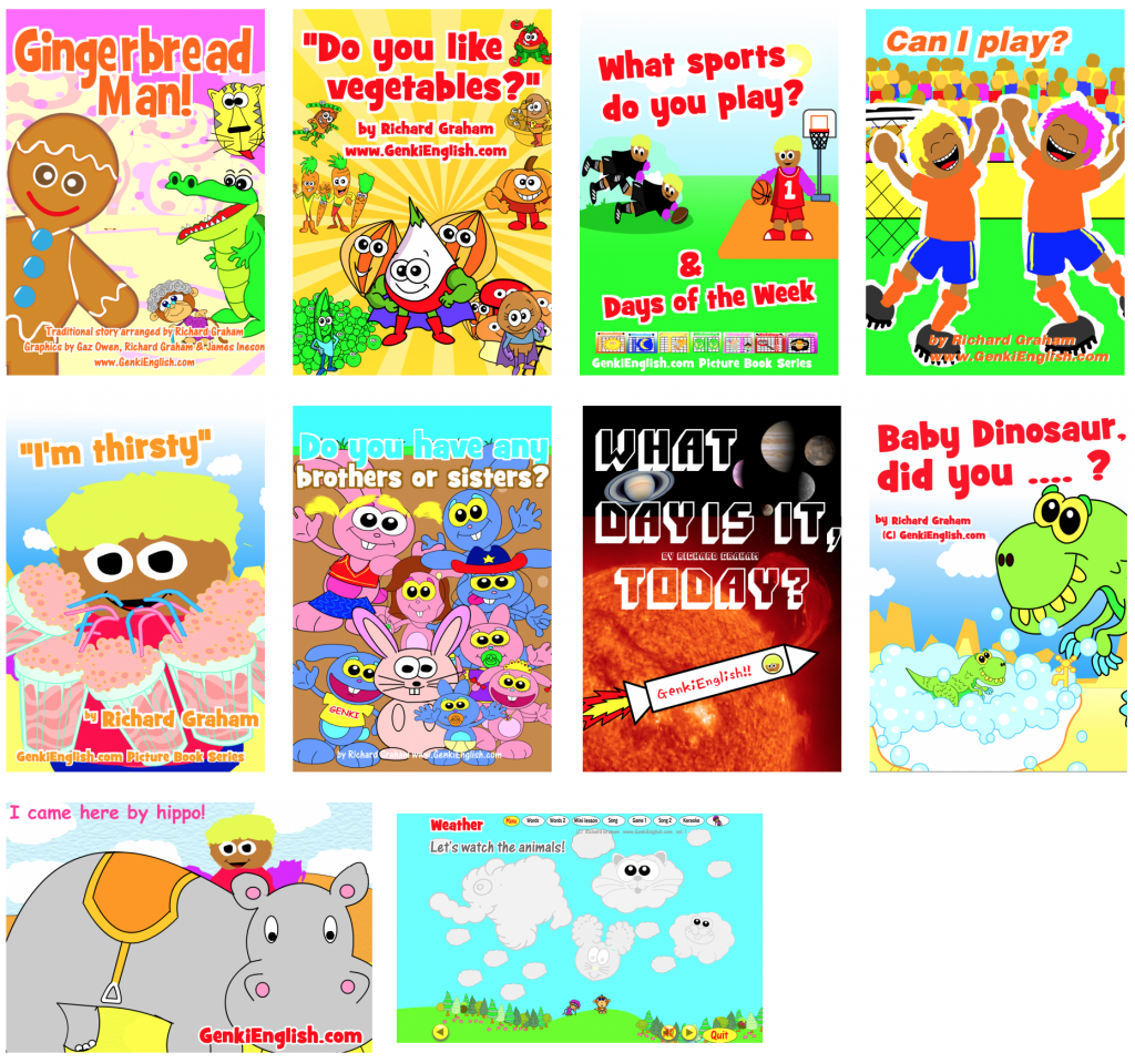 Genki English ESL Picture Books