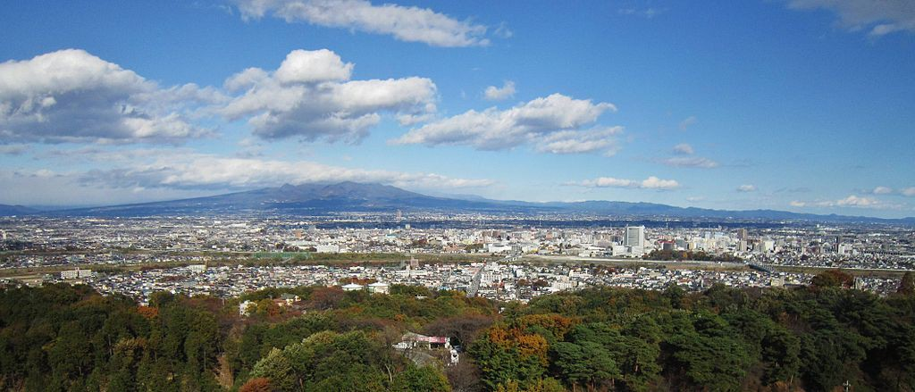 View_from_Takasaki_Kannon_northeast