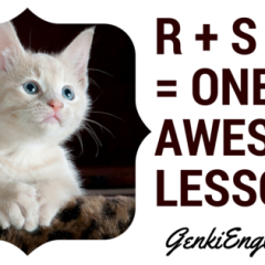 R + S + G= One AWESOME LESSON